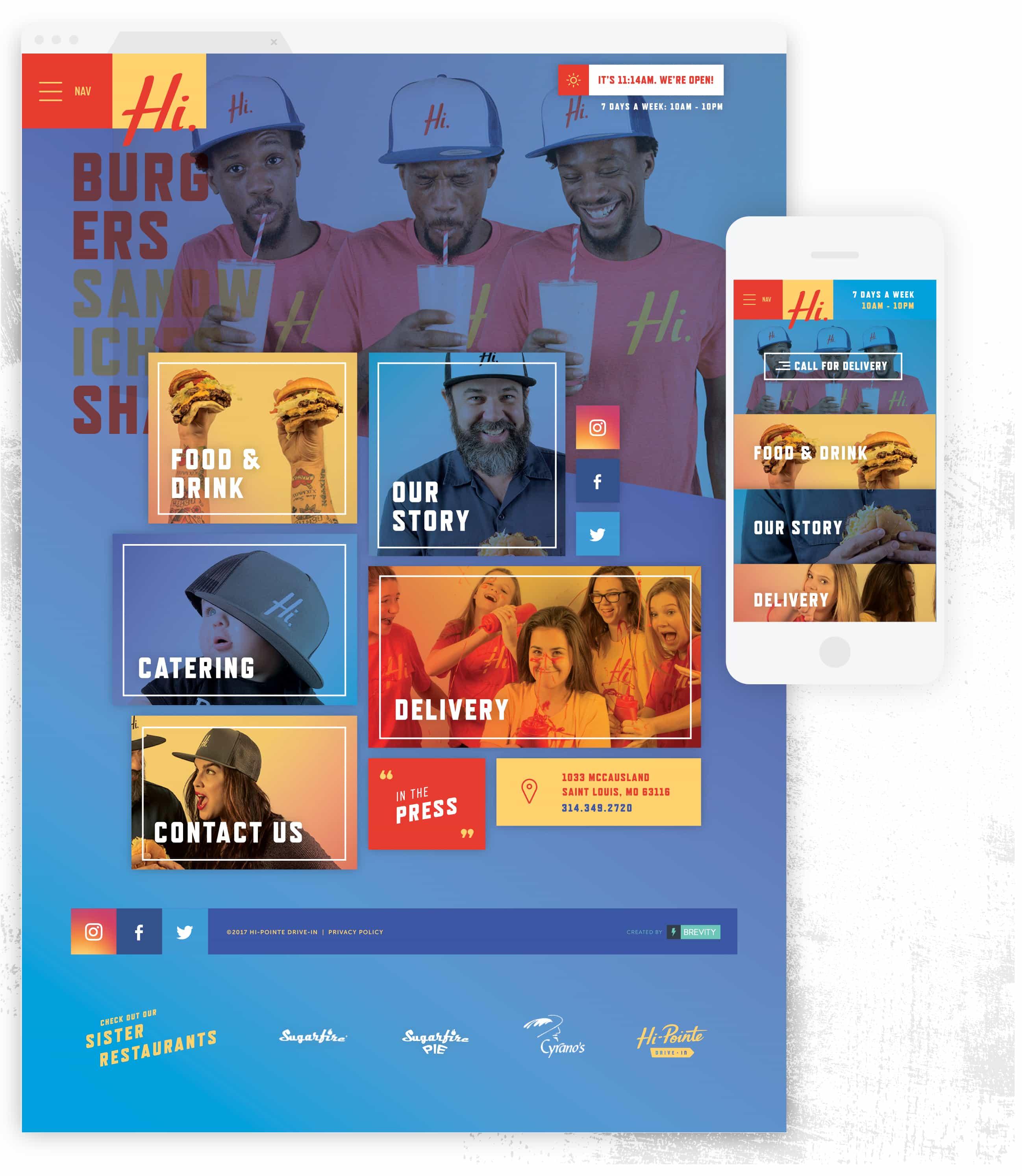 Mobile Web Design – Restaurant Digital Marketing