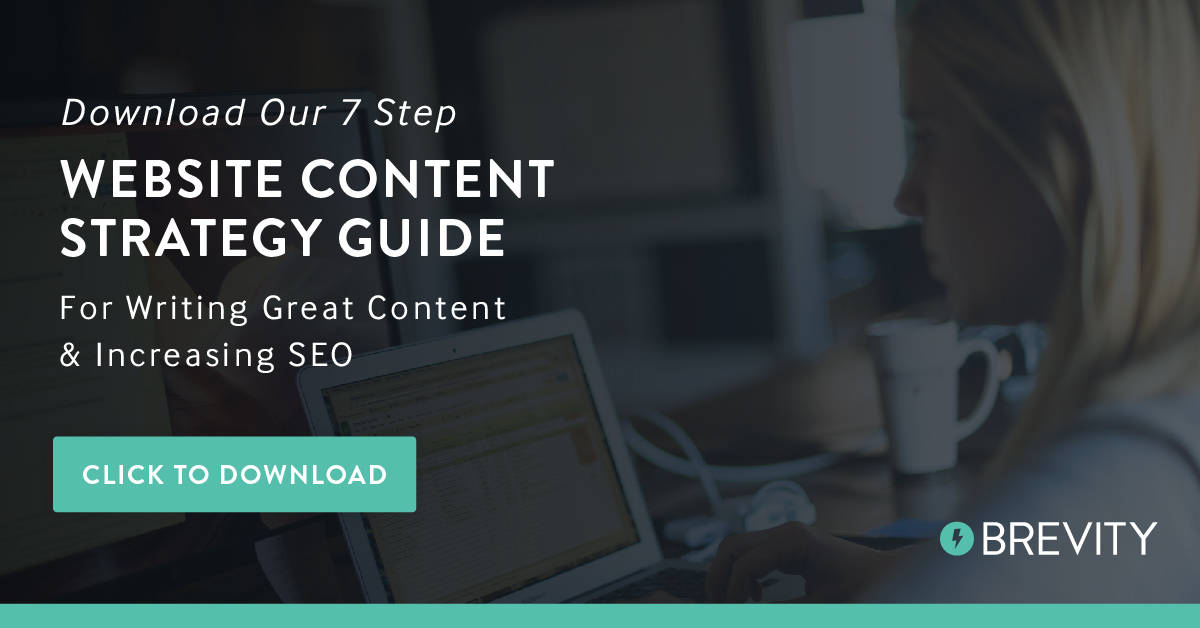 Download Brevity's content marketing post strategy