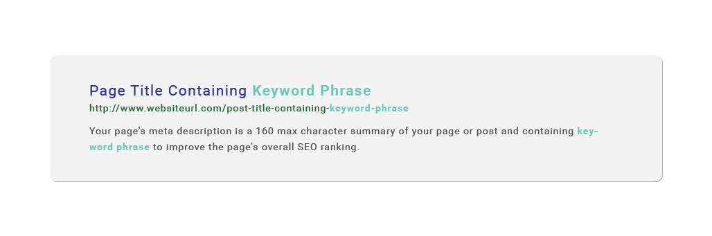 Get better content marketing results by setting up page meta descriptions.